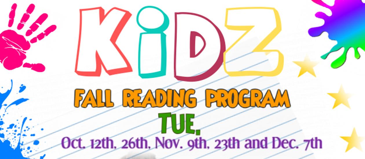 Kidz Fall Reading Program